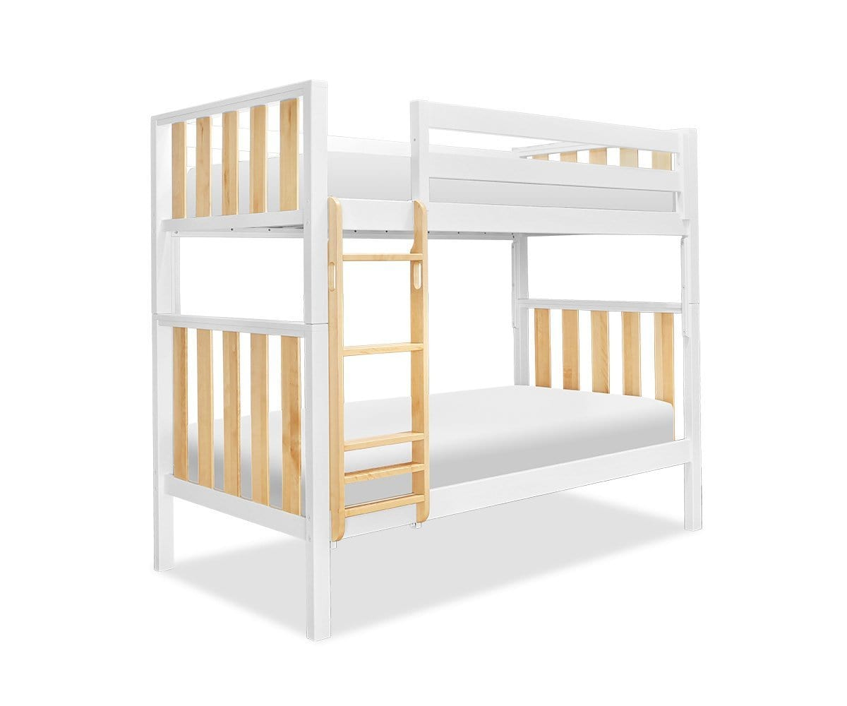 Picture of: Rowan Twin Over Twin Bunk Bed Scandinavian Designs