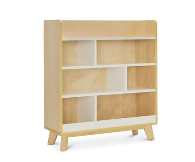 Rowan Bookcase White/Natural - Scandinavian Designs