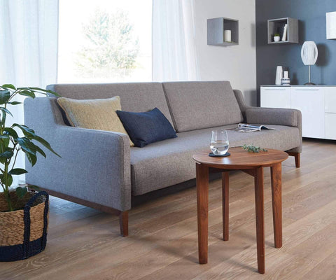Marit Queen Convertible Sofa GREY 521 - Scandinavian Designs