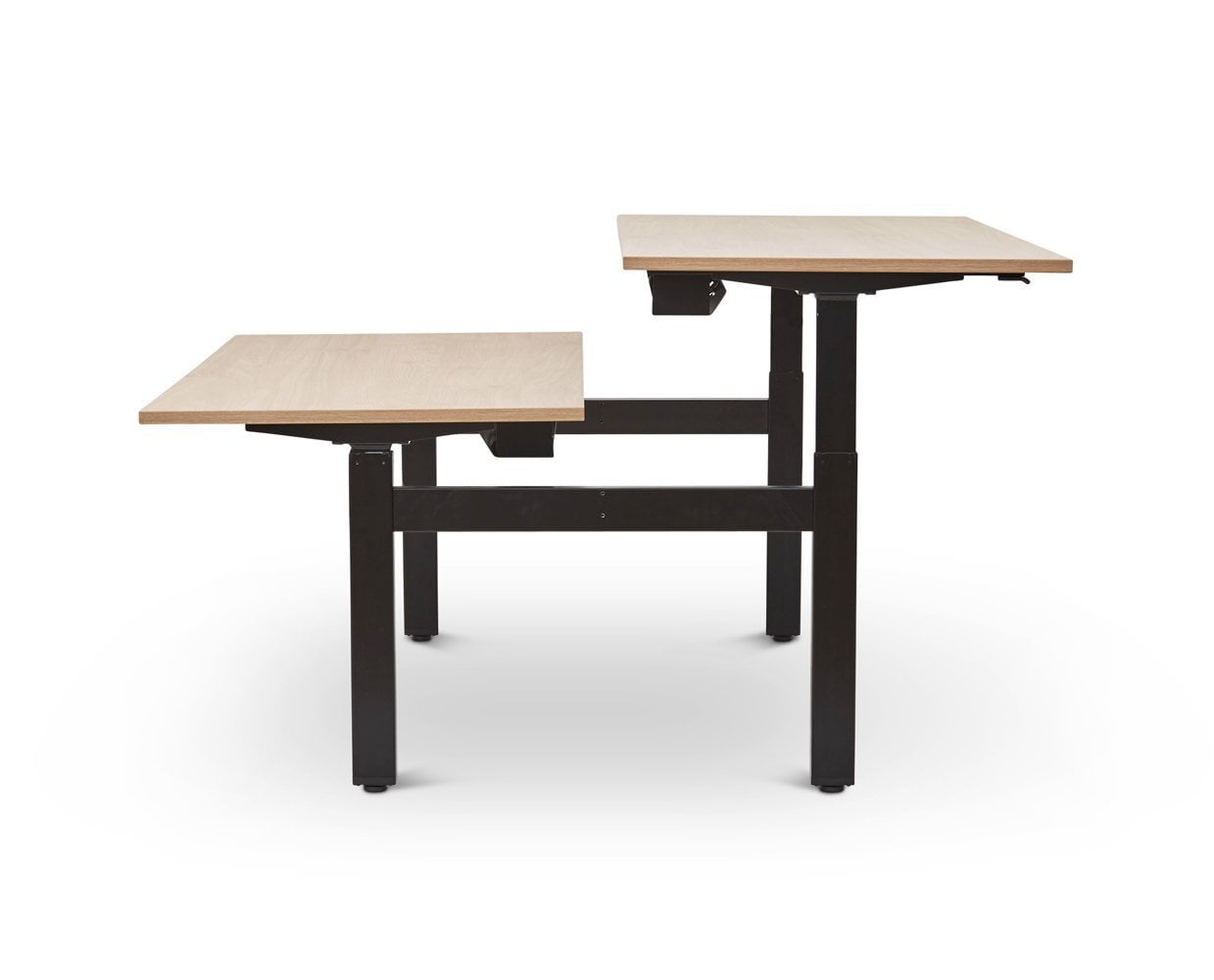 Jensen Double Sit Stand Desk - Scandinavian Designs