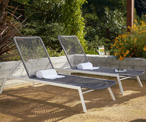 Inula Lounger GREY - Scandinavian Designs