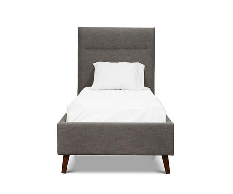 Tambur Twin Bed GREY - Scandinavian Designs