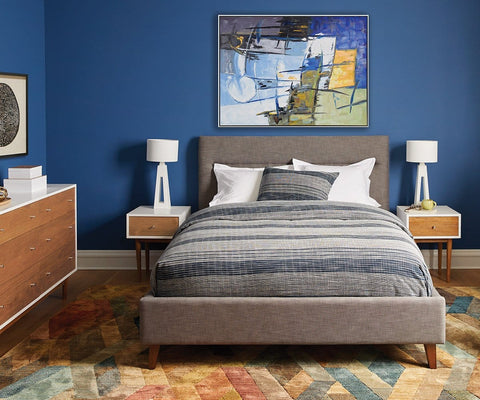 Ledgeri Painting Blue/Multi - Scandinavian Designs