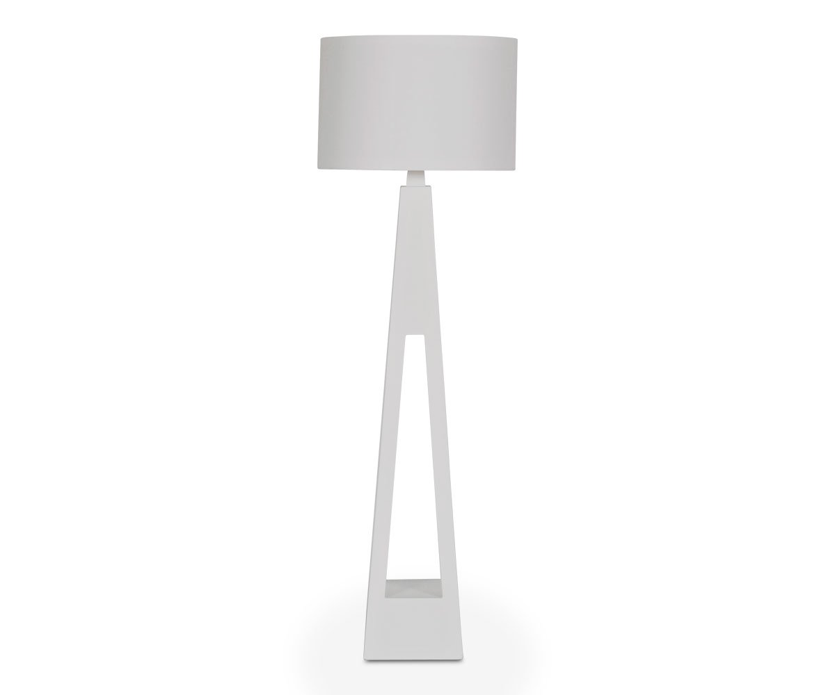 Shangrila Floor Lamp - White