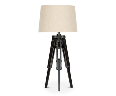 Tripod Wooden Table Lamp - Scandinavian Designs