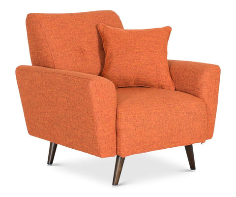 Setosa Chair - Orange - Scandinavian Designs
