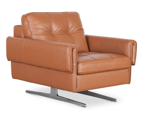 Brown Leather Chair Modern