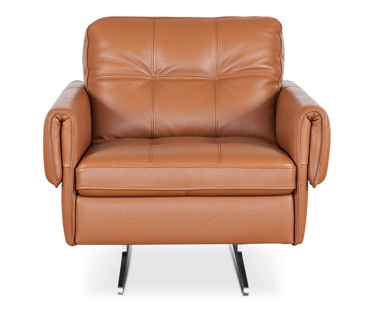 Scandinavian Leather Chair