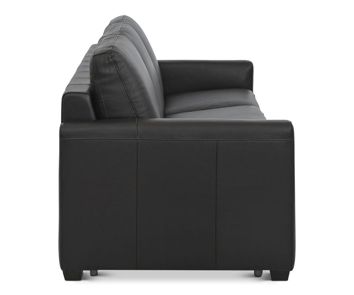 Exceptionnel Jonas Leather Sofa Sleeper