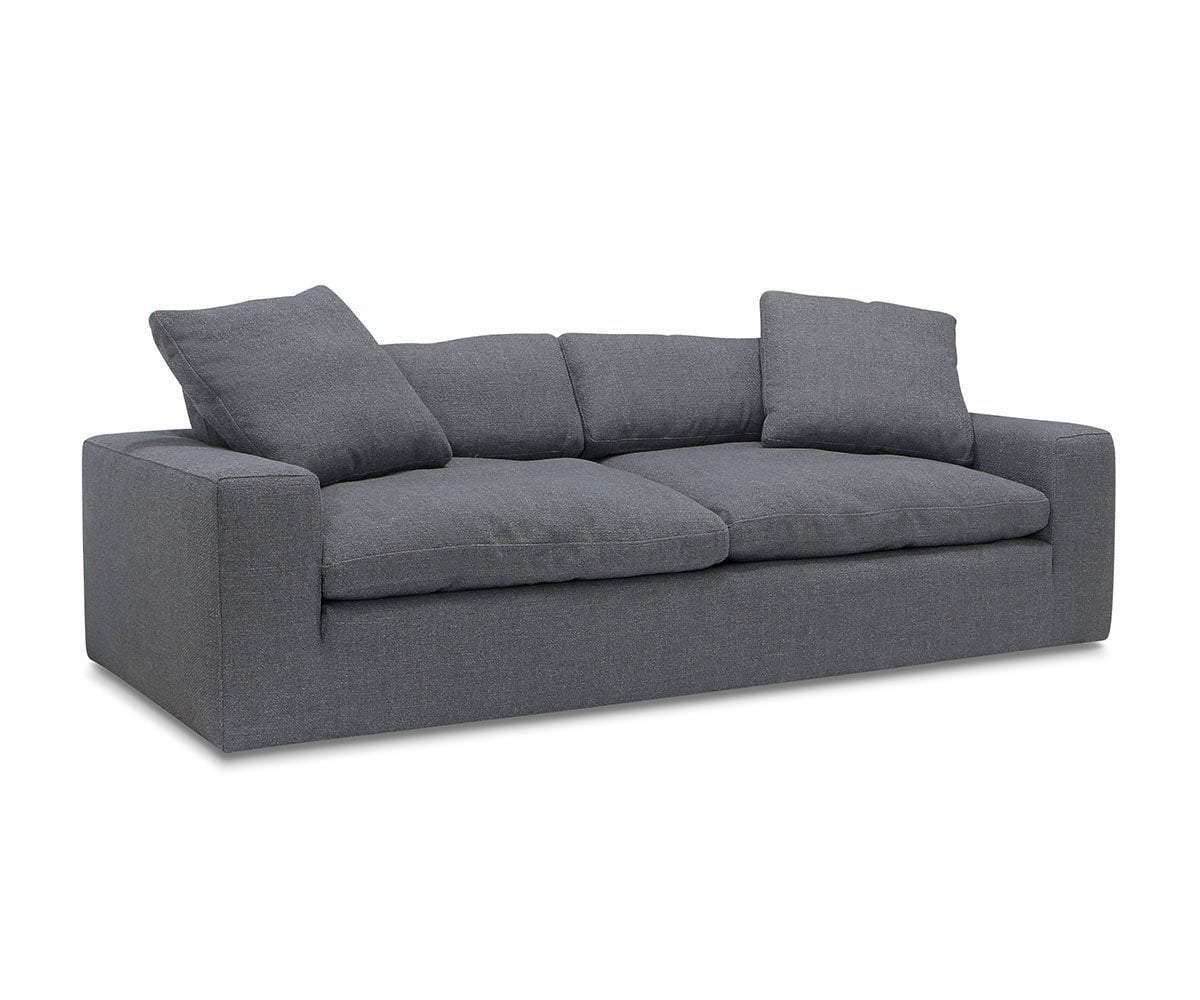 Siljan Loveseat Grey Flannel Moto - Scandinavian Designs