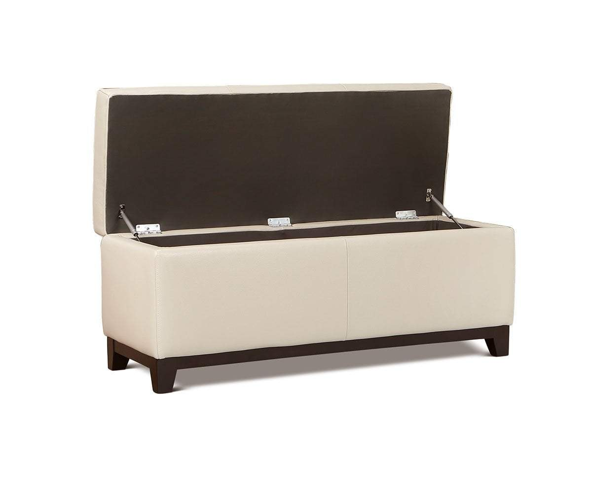 Amazing Pauline Leather Storage Ottoman Pdpeps Interior Chair Design Pdpepsorg