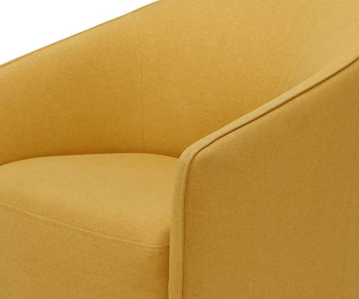 Komet Swivel Rocker Chair - Yellow Yellow B-636 - Scandinavian Designs