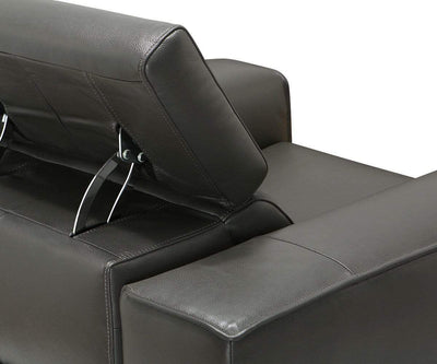 Lewen Power Recliner Anthracite NL/S 5101 - Scandinavian Designs