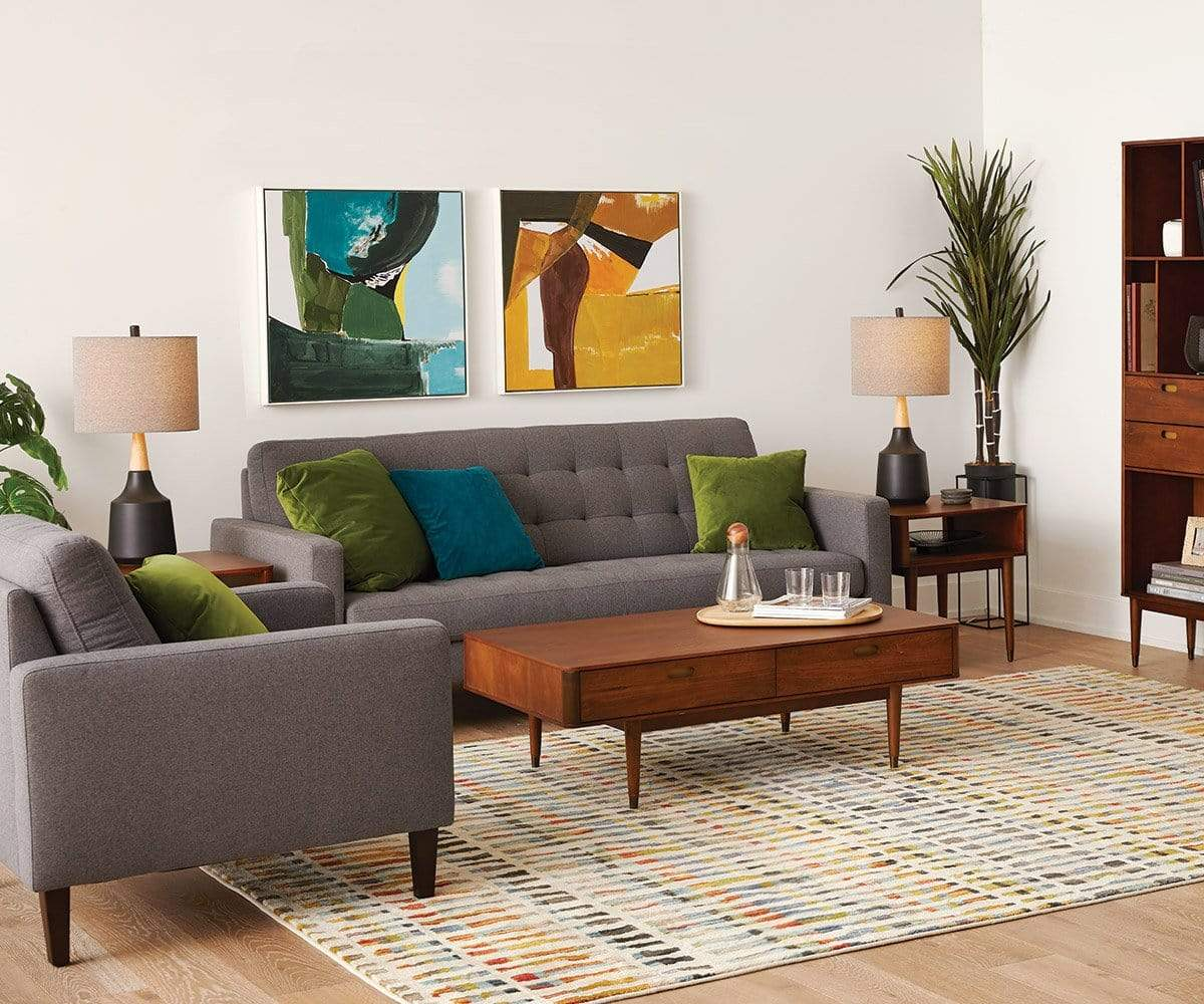 Holfred Coffee Table Timber Brown - Scandinavian Designs