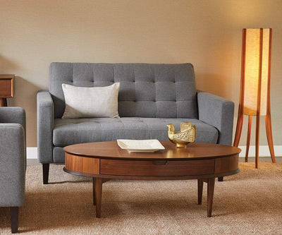 Laura Loveseat TAUPE B-657 - Scandinavian Designs