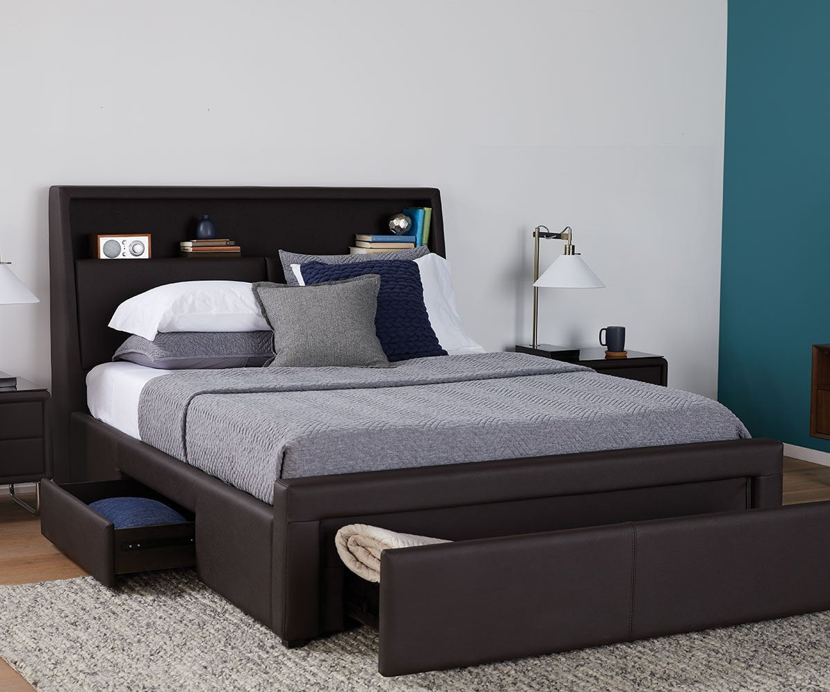 Phenomenal Lukko Storage Bed Scandinavian Designs Caraccident5 Cool Chair Designs And Ideas Caraccident5Info