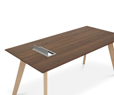 "Thorsten 63"" Desk Thorsten Walnut - Scandinavian Designs"