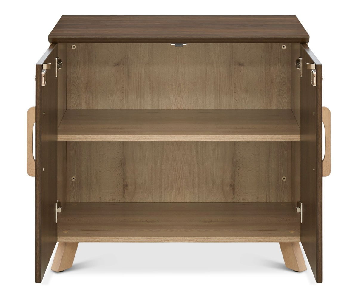 Thorsten Low Cabinet Thorsten Walnut - Scandinavian Designs