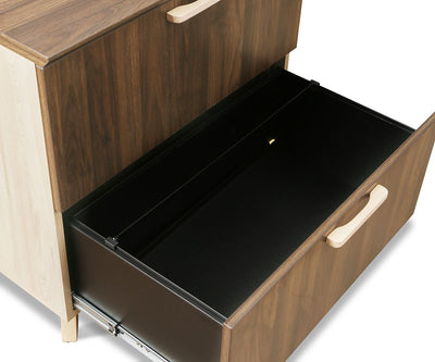 Thorsten Lateral File Thorsten Walnut - Scandinavian Designs