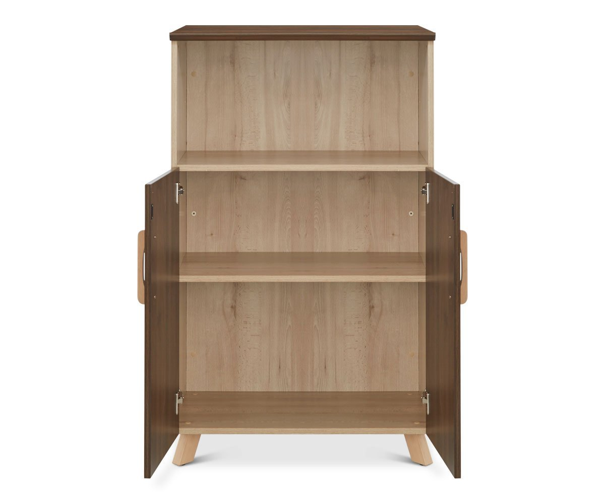 Thorsten Medium-Height Cabinet Thorsten Walnut - Scandinavian Designs