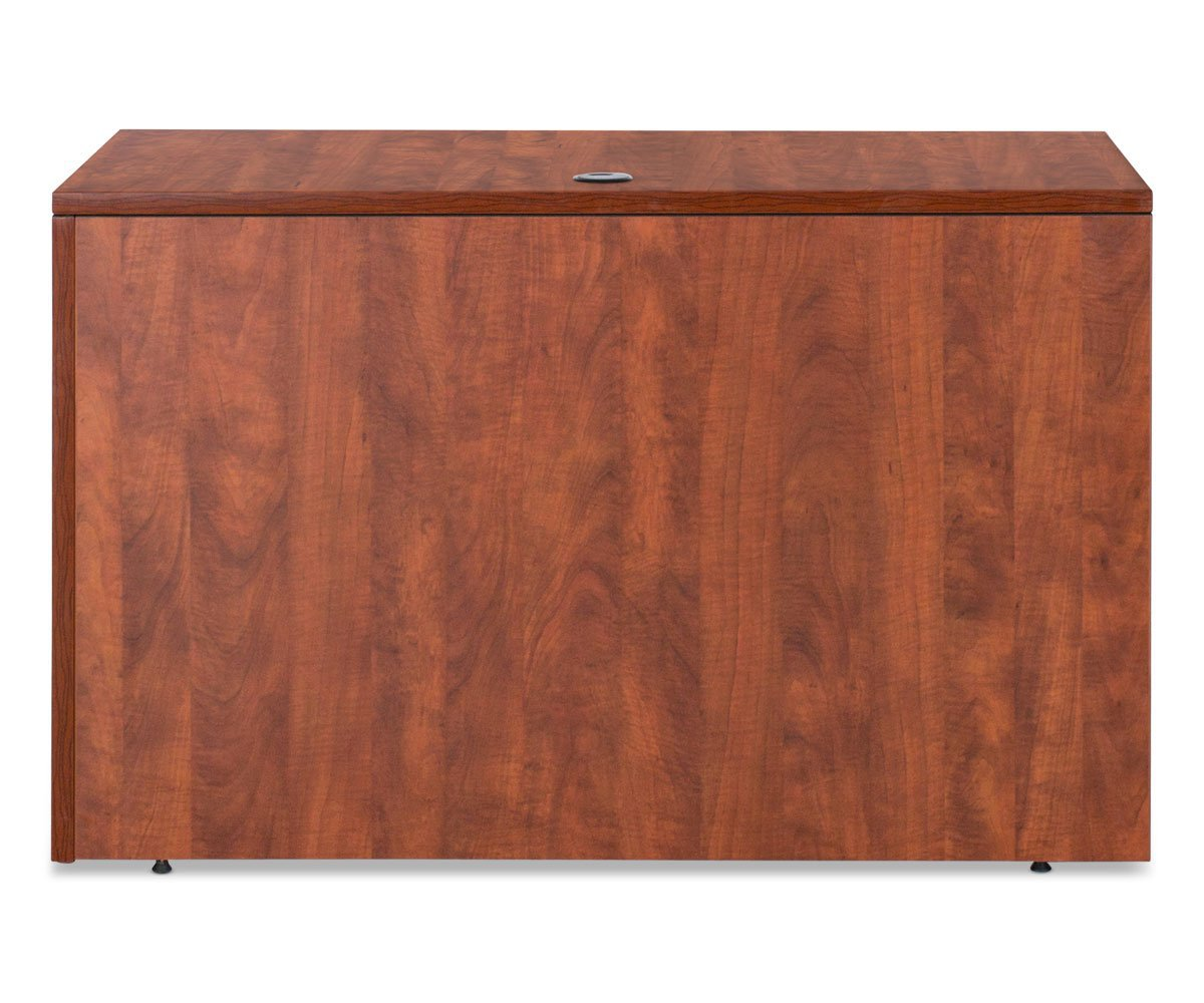 High quality crafted wood reversible desk return