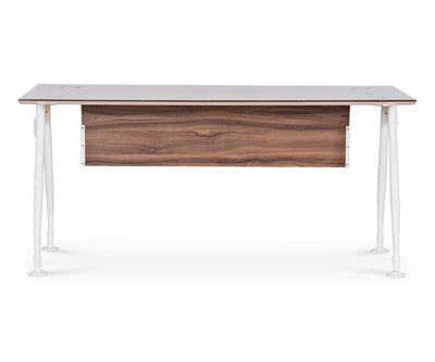 "Sparsa 63"" Desk White/Walnut - Scandinavian Designs"
