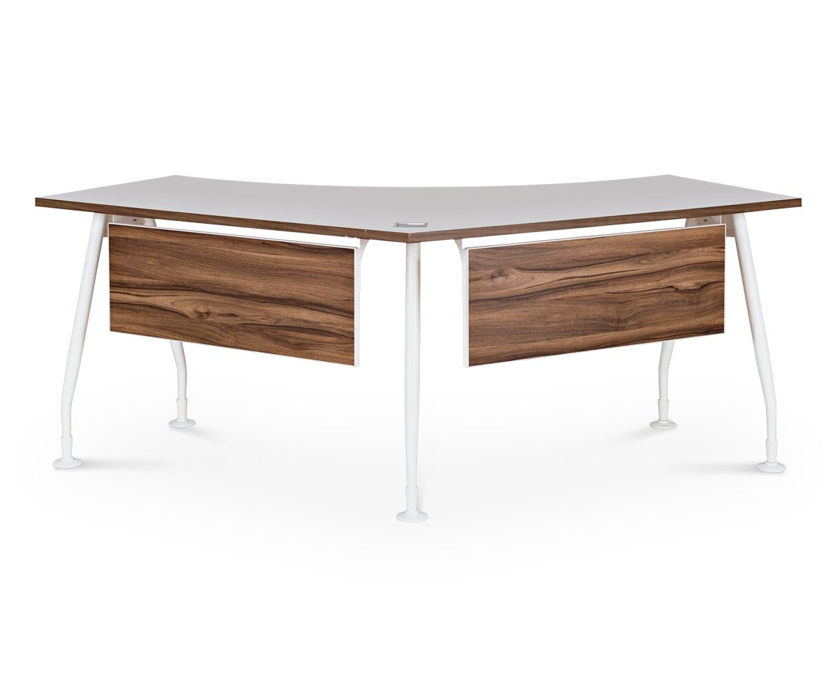 Sparsa 120 Degree Workstation - Scandinavian Designs