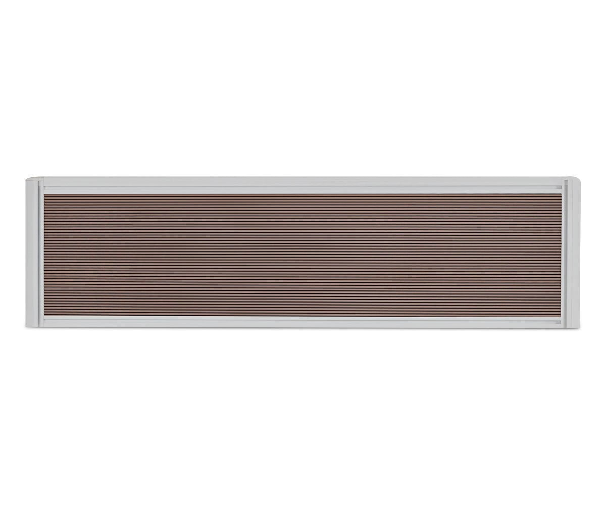 "Sparsa 40""W Desk Screen White/Walnut - Scandinavian Designs"