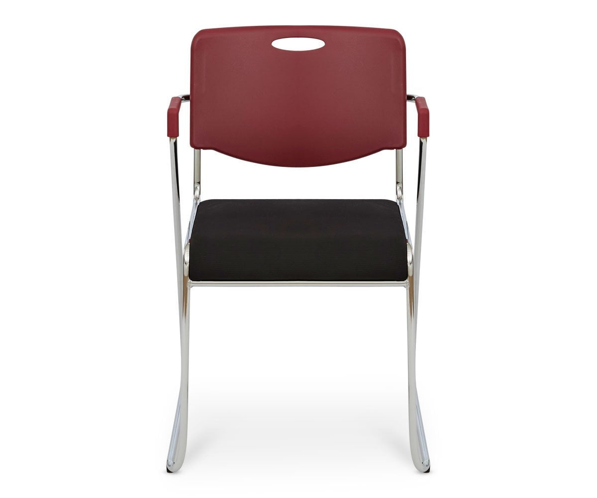 Enok Stacking Chair - Red - Scandinavian Designs