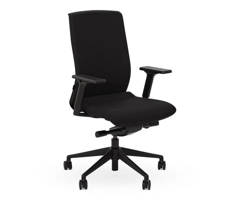 Rasmus Desk Chair - Black - Scandinavian Designs