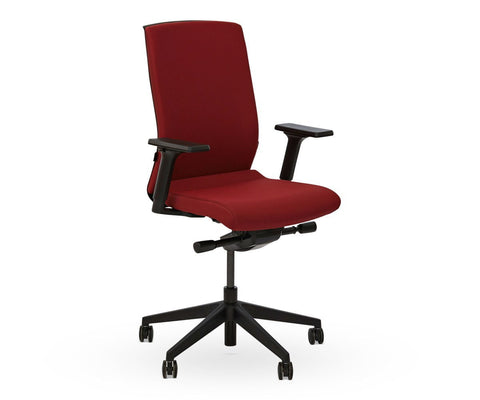 Rasmus Desk Chair - Red - Scandinavian Designs