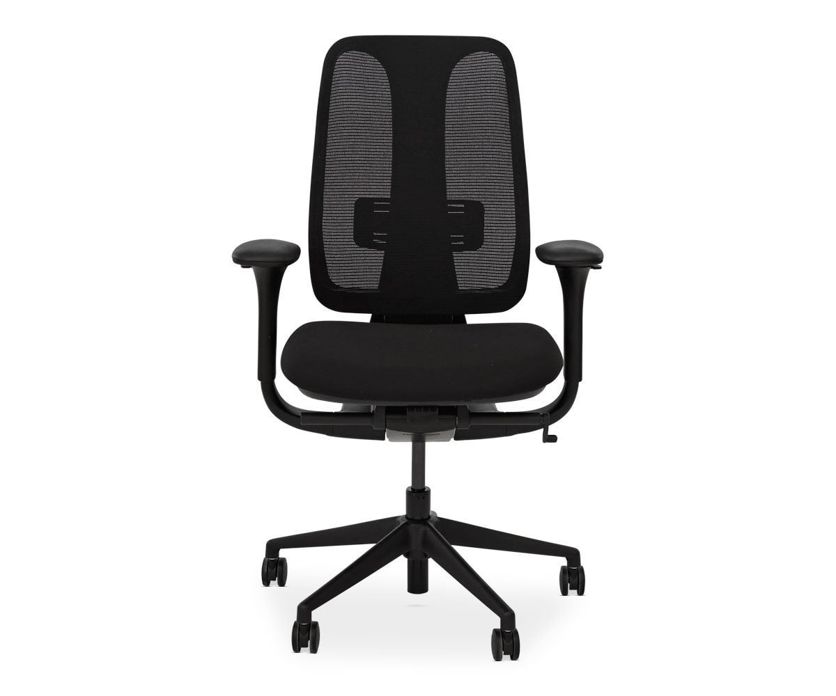 Mikkel Desk Chair - Black - Scandinavian Designs
