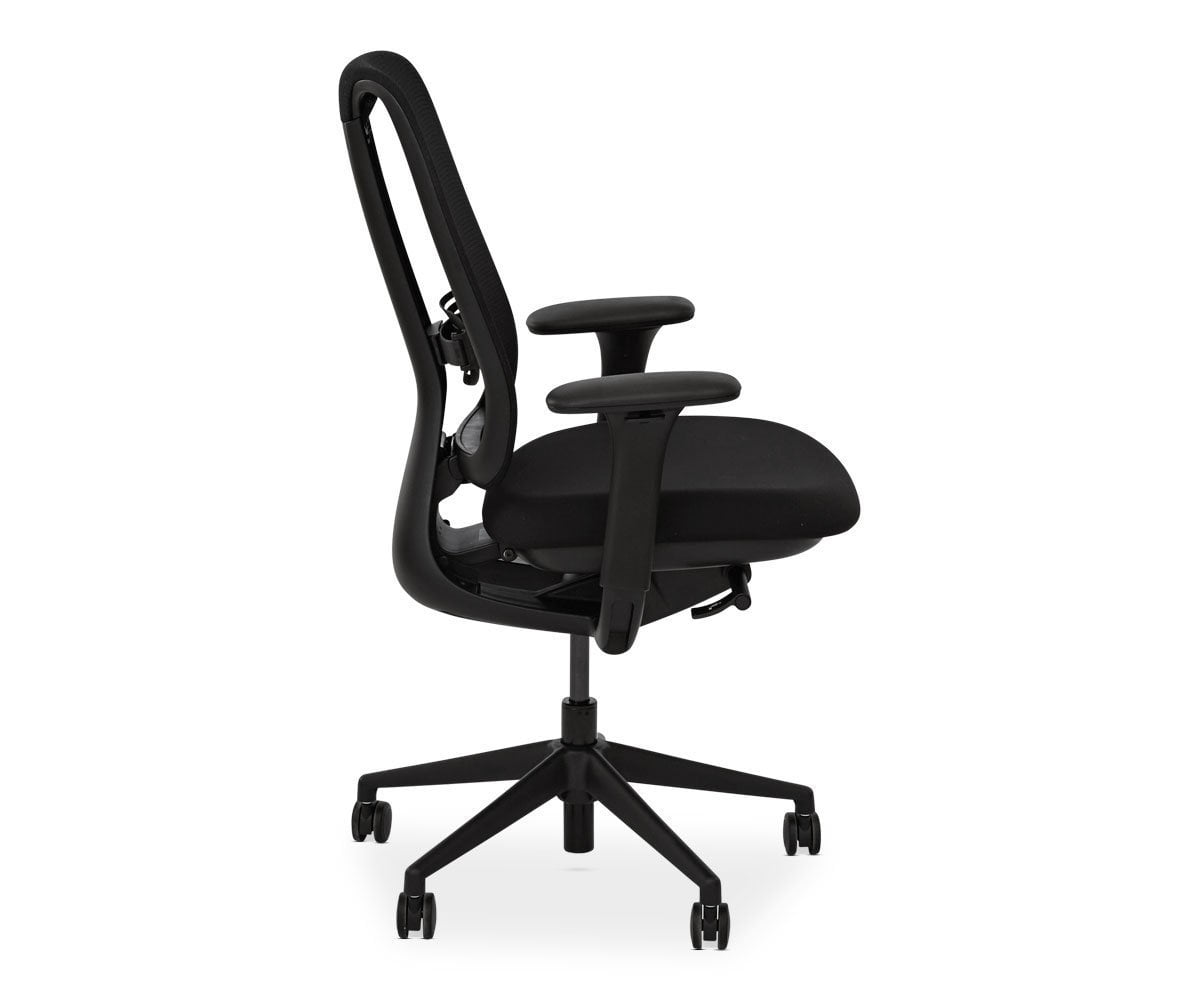 Mikkel Desk Chair   Black   Scandinavian Designs