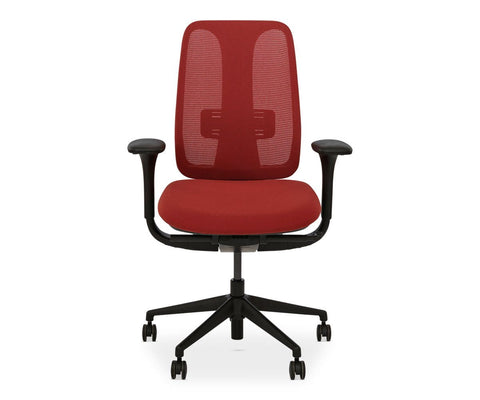 Mikkel Desk Chair - Red - Scandinavian Designs
