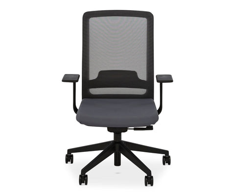 Elvar Desk Chair GREY - Scandinavian Designs