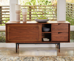 Kallan Sideboard Walnut - Scandinavian Designs