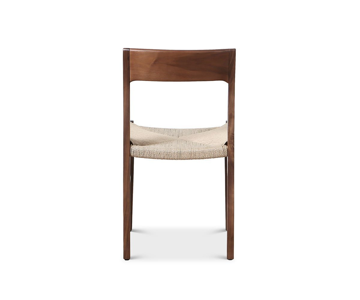 Kallan Dining Chair Walnut - Scandinavian Designs