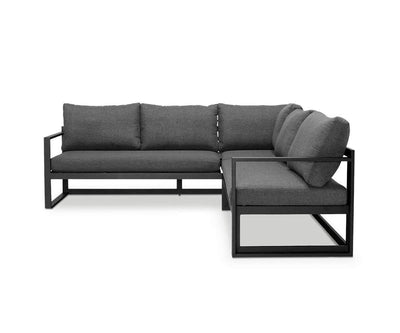 Jaren Sectional with Coffee Table Black Frame - Scandinavian Designs