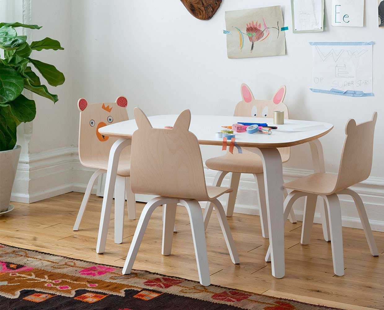Rabbit Play Chair (Set Of 2)   Scandinavian Designs