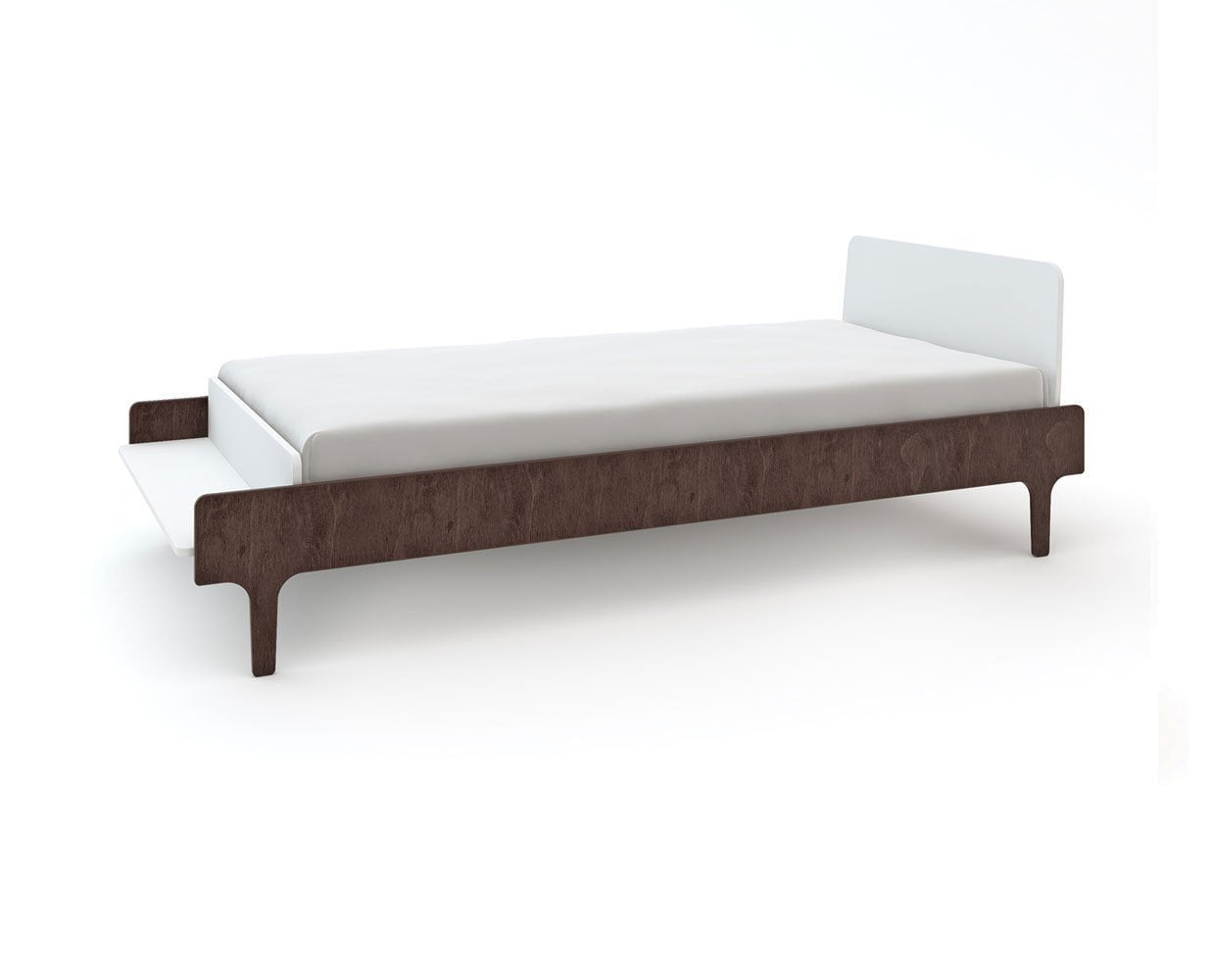 River Twin Bed - Walnut - Scandinavian Designs