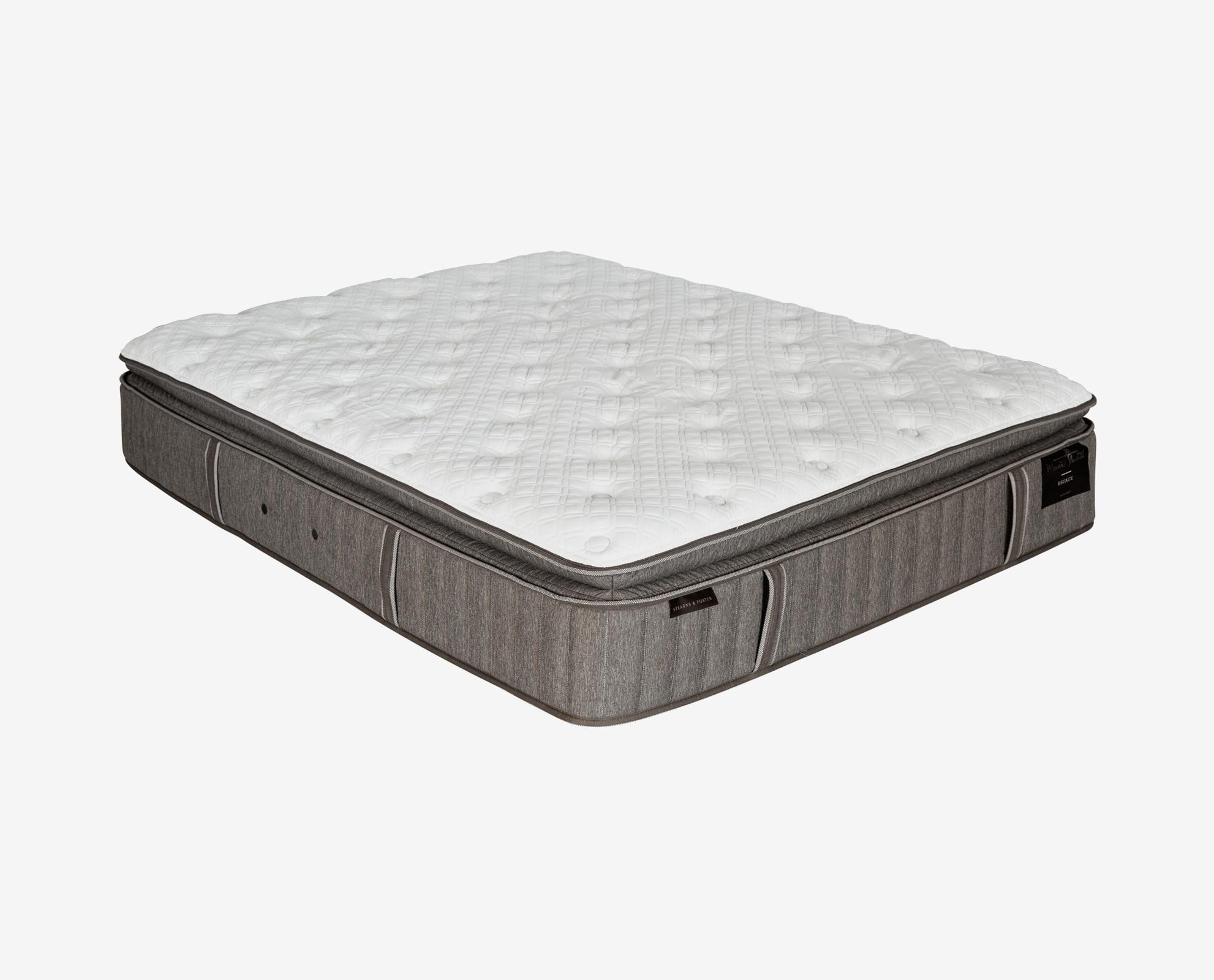 Stearns + Foster™ Scarborough Estate Luxury Plush Euro Pillow Mattress - Scandinavian Designs