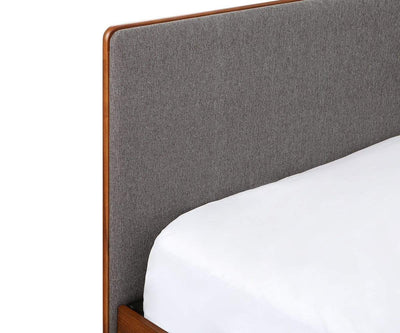 Holfred Full Bed GREY - Scandinavian Designs