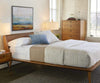 Bolig Bed - Light Walnut Stain - Scandinavian Designs