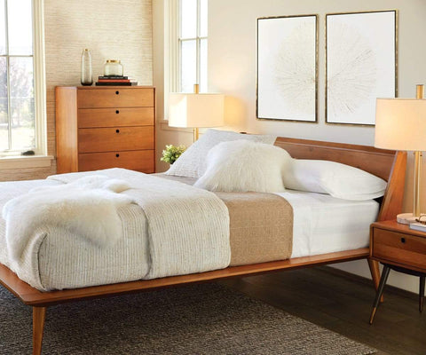 Bolig Bed - Walnut - Scandinavian Designs