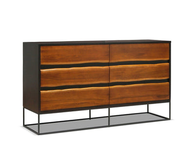 Hasse Double Dresser Timber Brown - Scandinavian Designs