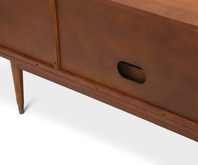 Holfred Media Stand Timber Brown - Scandinavian Designs