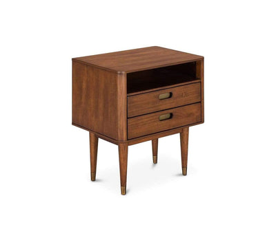 Holfred Nightstand TIMBER BROWN - Scandinavian Designs
