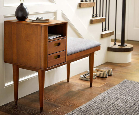 Holfred Bench TIMBER BROWN - Scandinavian Designs
