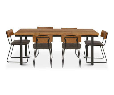Karsten Dining Table SADDLE BROWN - Scandinavian Designs