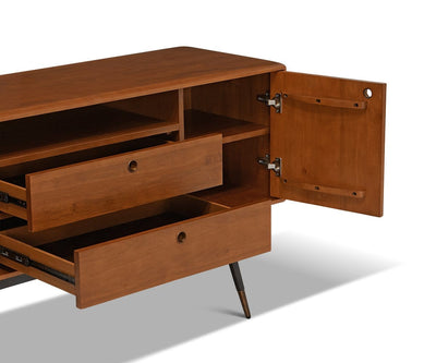 Lanson Sideboard Light Walnut Stain - Scandinavian Designs